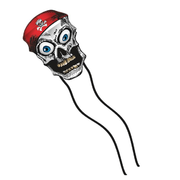 Pirate Skull Wiggle Kite - Life's a breeze GB Ltd