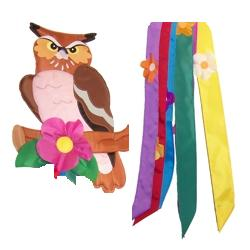 Owl Windtail. Woodland Owl Windtail 2D Effect - Life's a breeze GB Ltd