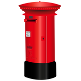 Greetings Card Postbox