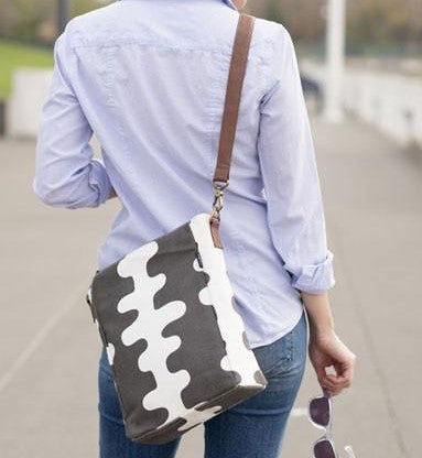 Crossbody Bag - Charcoal