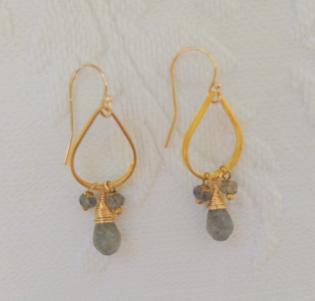 Luna Earrings - Teardrop Shape