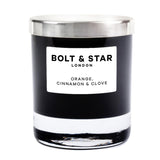 Orange, Cinnamon & Clove soy wax candle with lid (185g)