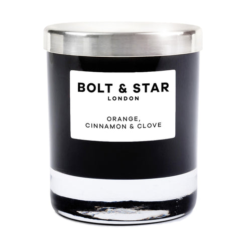 Orange, Cinnamon & Clove essential oils soy wax candle without lid (185g)