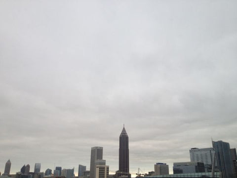 Atlanta's grey skies during Market