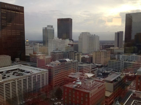 Overlooking Atlanta during the International Gift & Home Furnishings Market