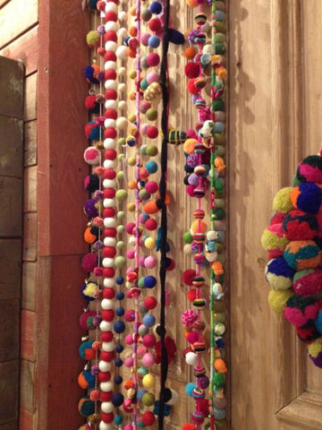 Boho garland at Market!