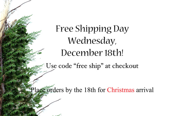 Bomisch is participating in Free Shipping Day, Dec 18, 2014