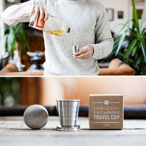 The Collapsible Travel Cup by Izola is perfect for finding a fun moment in a busy life.