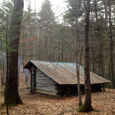 Deer Park Mountain shelter on the Appalachian Trail.