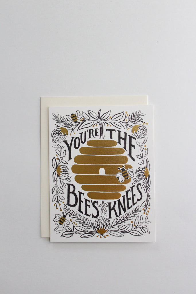You're the bees knees Rifle Paper Co. greeting card.