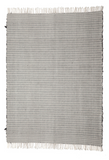 Caroline Z. Hurley hand woven and hand spun striped cotton rug.