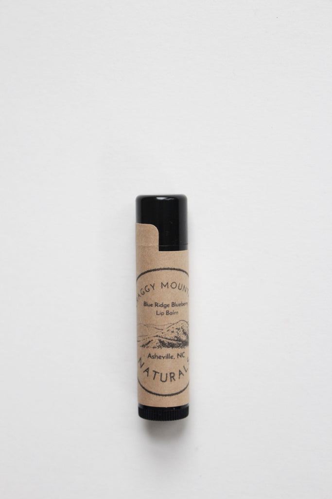 Handmade natural lip balm made in Asheville, NC.