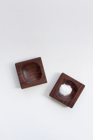 Reclaimed Walnut Pinch Bowls, Set of 2