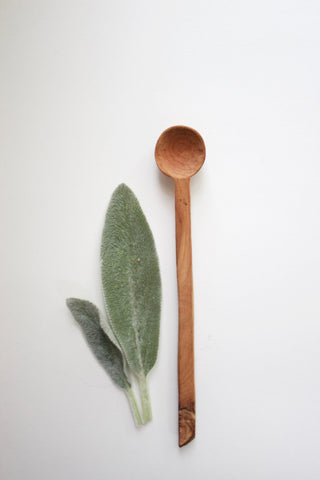 Sycamore Wood Hand Carved Spoon