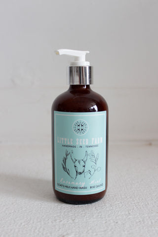 Rosemary Mint Goat's Milk Liquid Soap