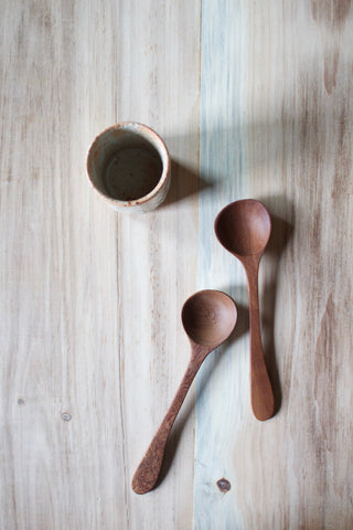 Wood Eating Spoon