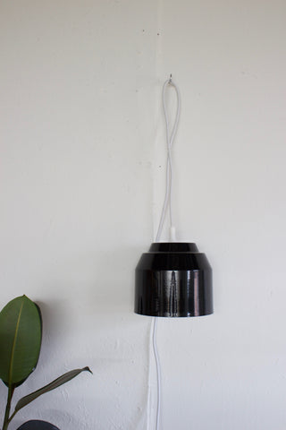 Pail Pendant Light - Black