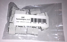 Load image into Gallery viewer, CMT:   CAT6 / RJ45 inline couplers pack of 12 -for voice, home networking, audio, video