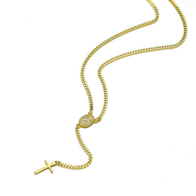 Mister Rosary Plus Mens Necklace - Co. 82