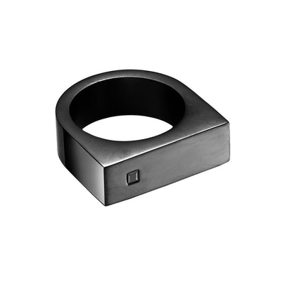 Mister Bars Ring - Onyx Stone - Co. 82