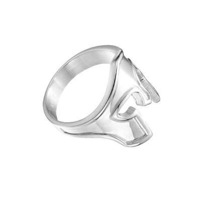 Spartan Mens Ring Silver | Gold - Co. 82