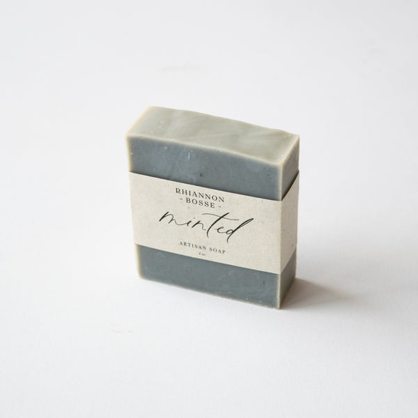 Minted Natural Soap