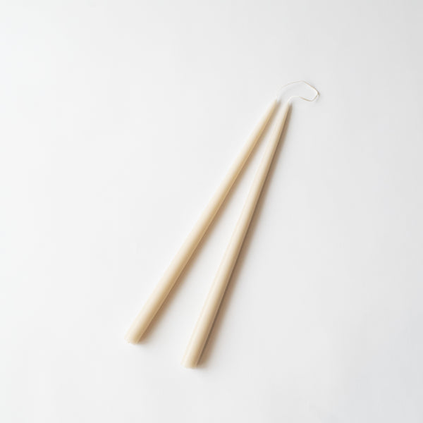 Parchment Taper Candles