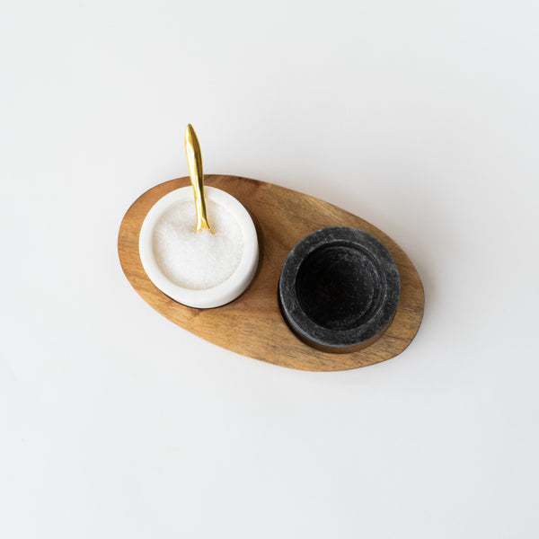 Marble Bowl Set with Spoon