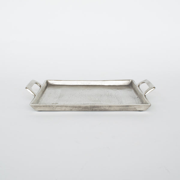 Antique Nickel Square Tray