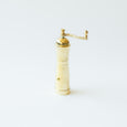 Large Brass Peppermill