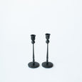 Black Iron Taper Candle Holder