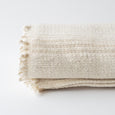 Natural Stripe Hand-Loomed Throw