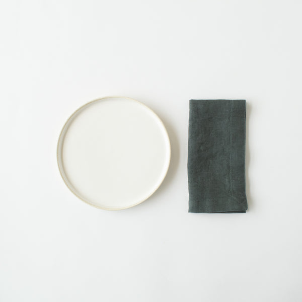 Forest Green Linen Napkins