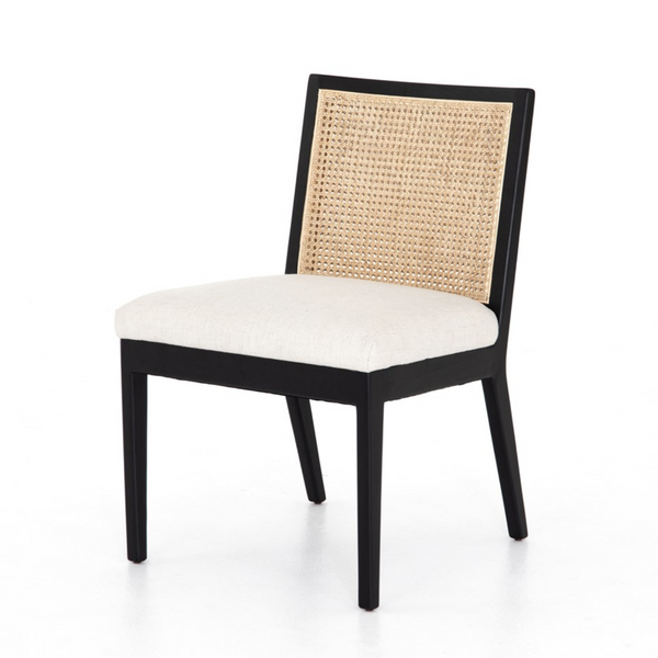 Angelina Cane Armless Dining Chair