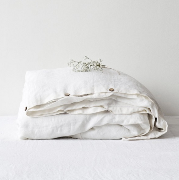 Soft White Duvet Set