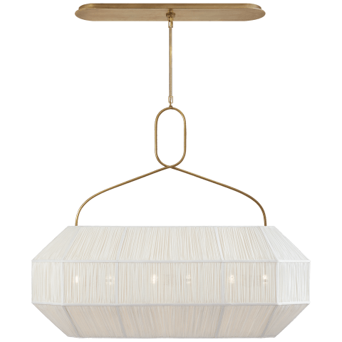 Forza Medium Gathered Linear Lantern