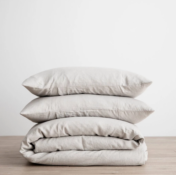Smoke Gray Duvet Set