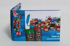 Mini M&M Blue Wallets