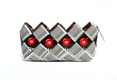 M&M Barcode Mini Clutch