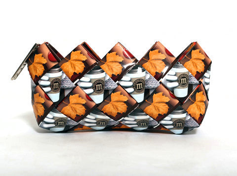Fall Coffee M&M Mini Clutch