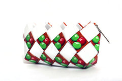 Red & Green Trio Mini Clutch