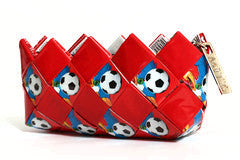 Soccer mini Clutch