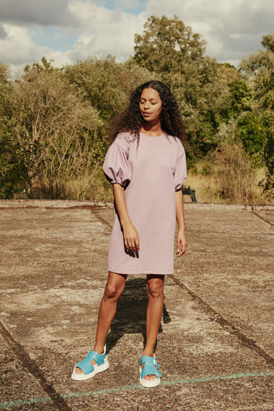 RIYKA apollo dress in dusty violet