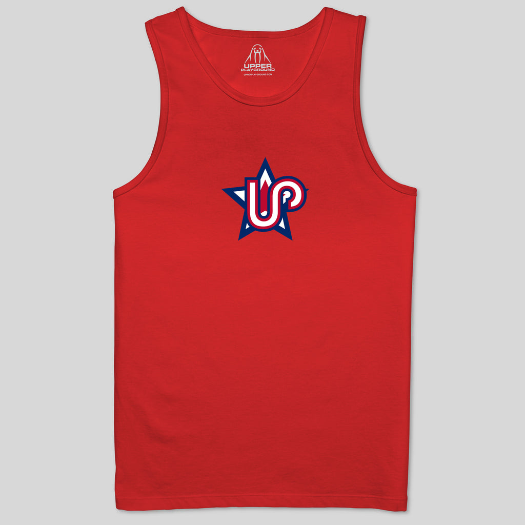 5S - ALL STAR 4TH IN RED - MEN'S TANK