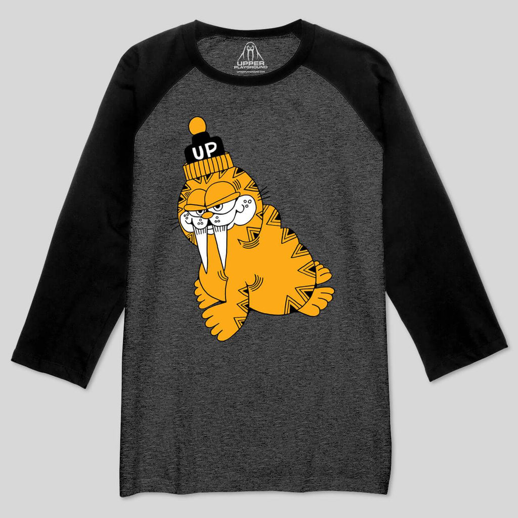 5S - Wally Cat Baseball Tee