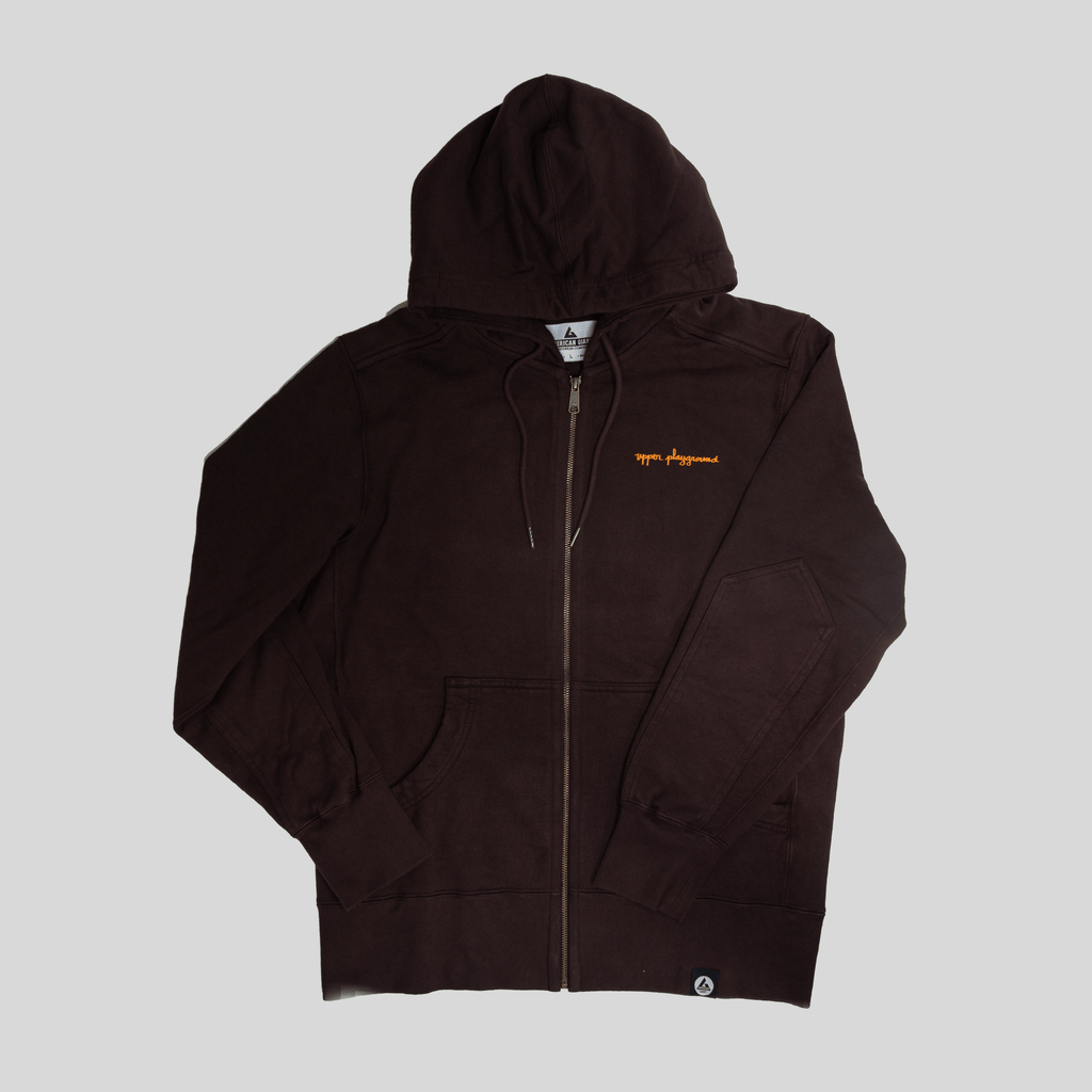 Upper Playground - Lux - INDUSTRIOWL AMERICAN GIANT FULL ZIP HOODIE