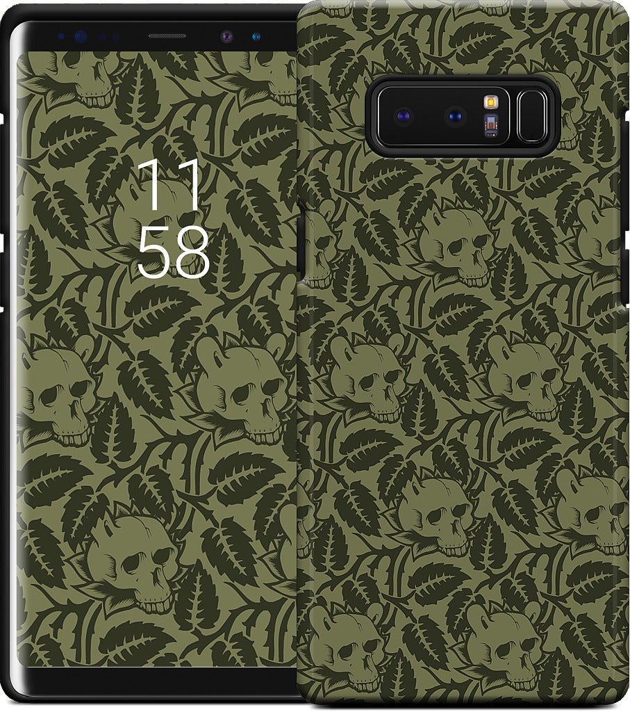 Notion - Skull Leaf Samsung Case