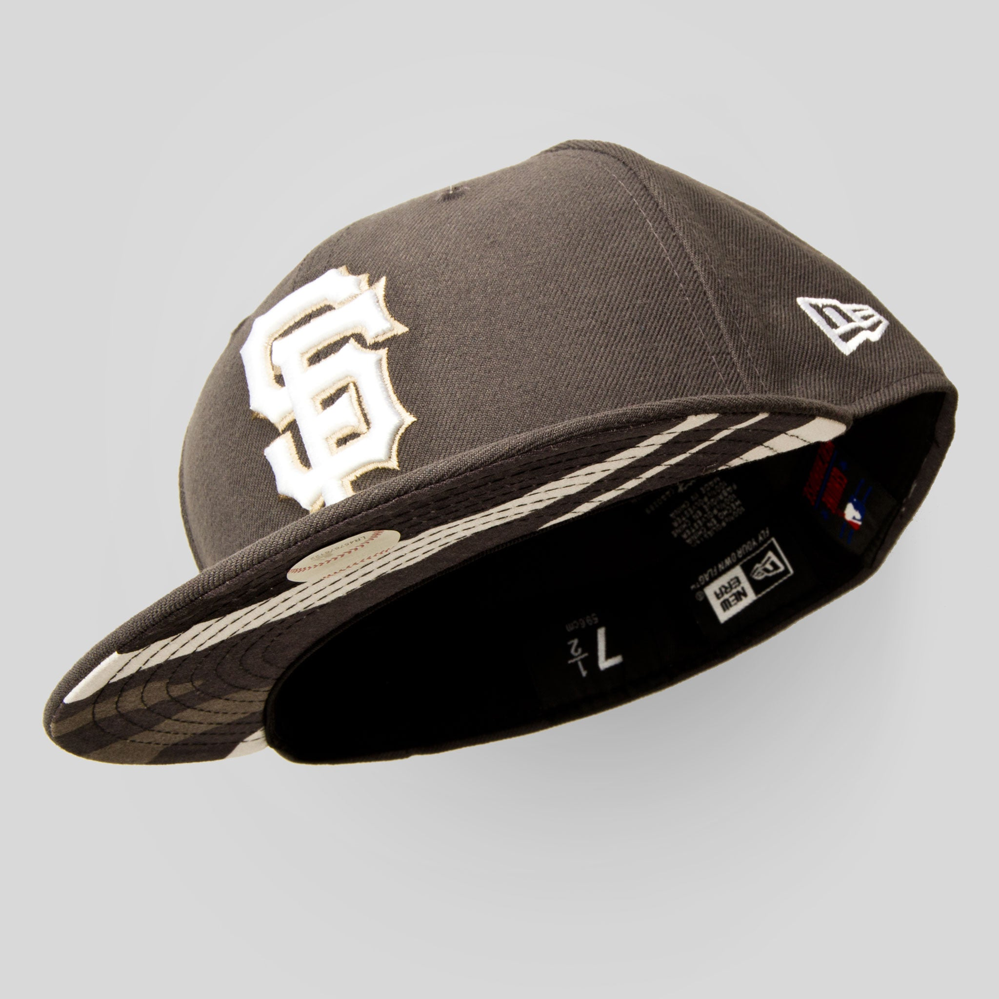 Upper Playground - Lux - SF Giants New Era Fitted Cap in Gray   Urban Camo  ... 6a12b315342