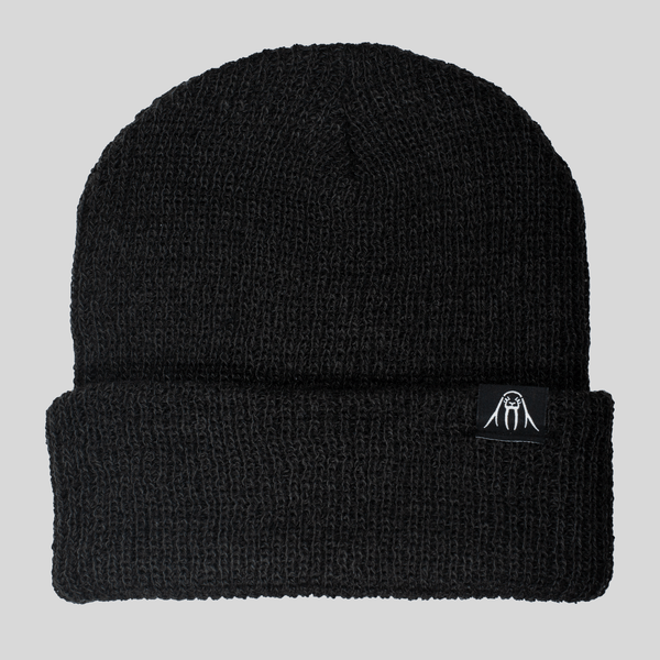 Upper Playground - Lux - UP Cuff Beanie in Charcoal