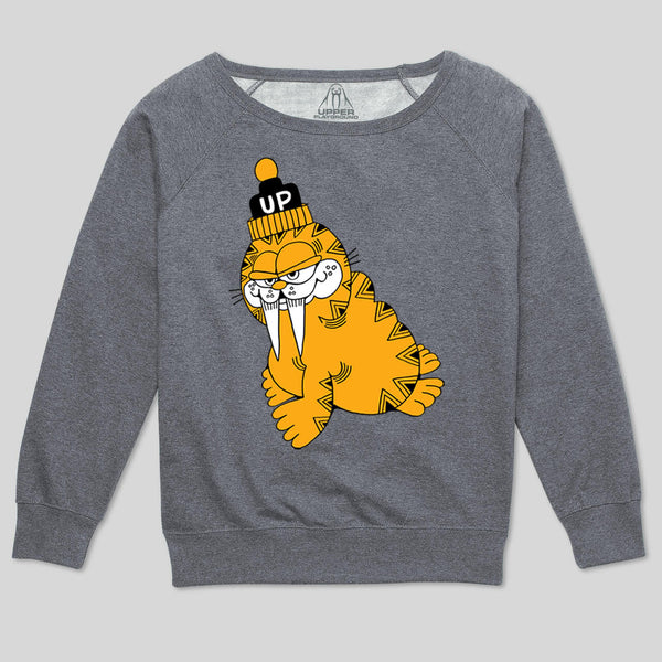 5S - Wally Cat Women's Sweatshirt